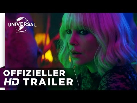 Atomic Blonde - Trailer #2 deutsch/german HD
